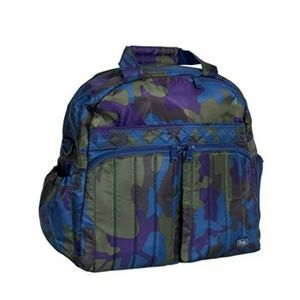 Lug Boxer Overnight Bag - Camo Multi